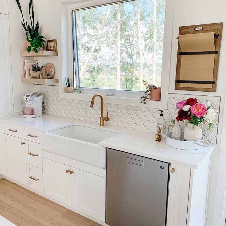 Best Tile Backsplash For Farmhouse Kitchen Sink Farmhousehub