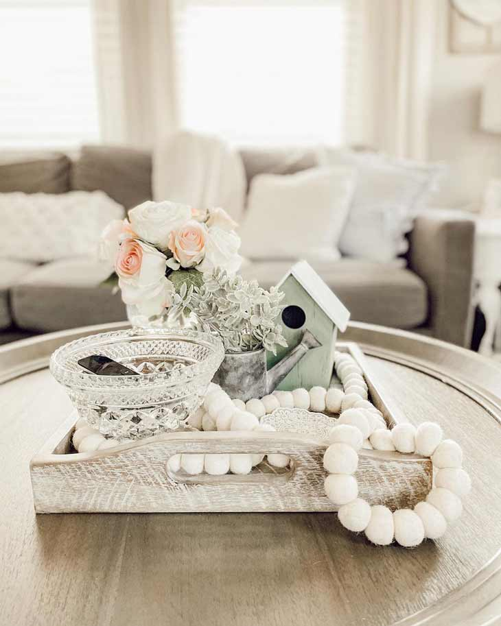 Simple Charming Farmhouse Coffee Table Decor Ideas Farmhousehub