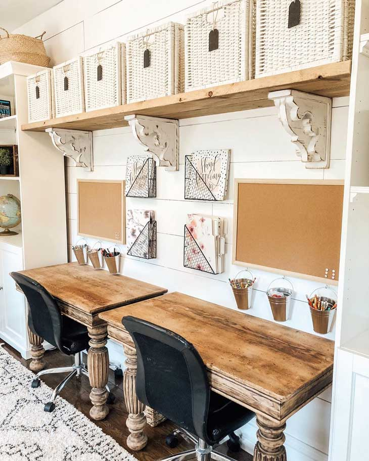 farmhouse home office
