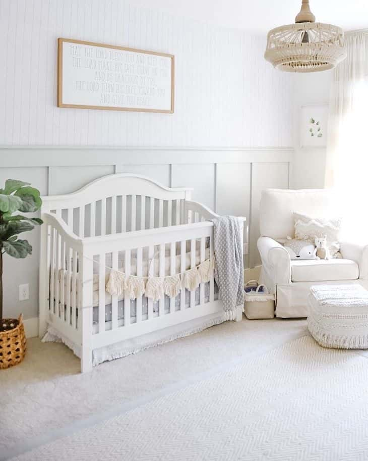 Unisex farmhouse nursery